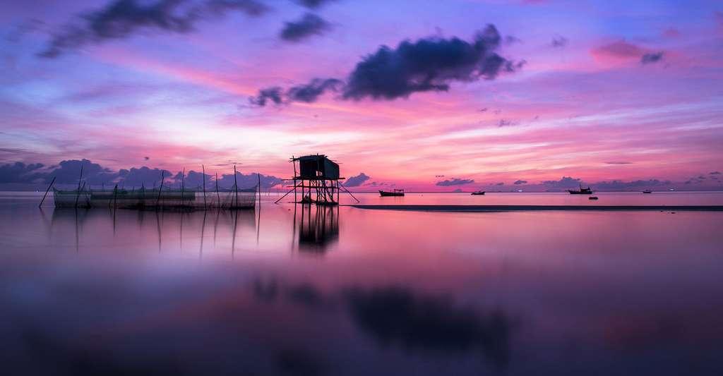 Coucher de soleil. © Quangle, Pixabay, DP