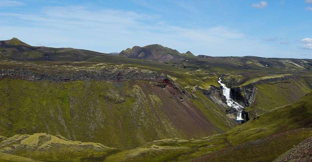 Cascade Eldgjá und Ófærufoss, Islande. © Jakob Hürner, CC by-nc 2.0