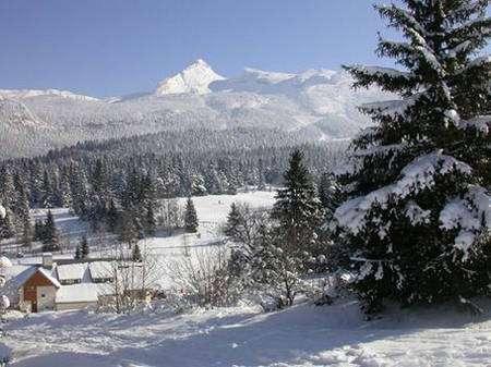 Paysage hivernal, Corrençon-en-Vercors. © Bruno Veillet - Tous droits réservés