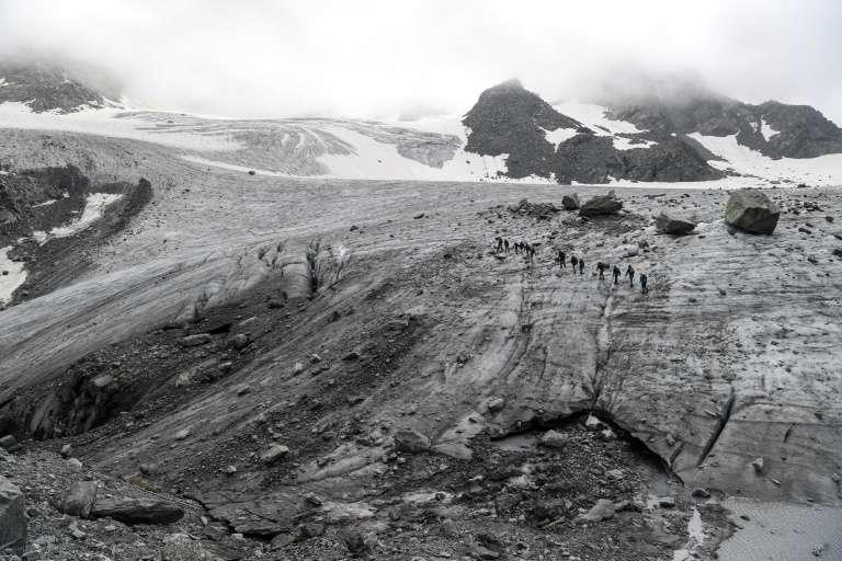 Sur plusieurs des sites étudiés, les chercheurs ont retrouvé des traces d'essais militaires d'armes nucléaires. © Philippe Desmazes, AFP, Archives