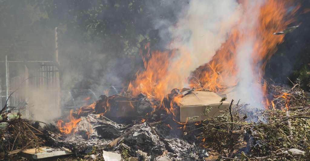 Le brûlage et le dépôt sauvage de déchets industriels banals sont interdits par la loi. © travel_maker, Fotolia