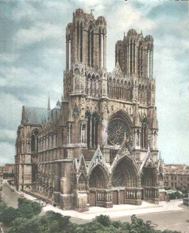 Cathédrale de Reims, capitale du champagne