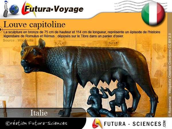 La louve capitoline - Italie