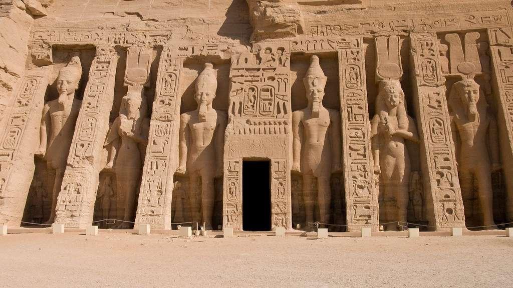 Les temples d'Abou Simbel