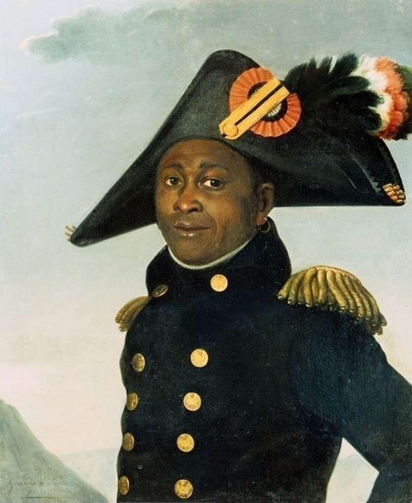 Portrait de Toussaint Louverture (1743-1803) réalisé par le comte Alexandre Louis de Girardin vers 1805. © Wikimedia Commons, domaine public