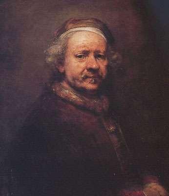 Autoportrait de Rembrandt en 1669