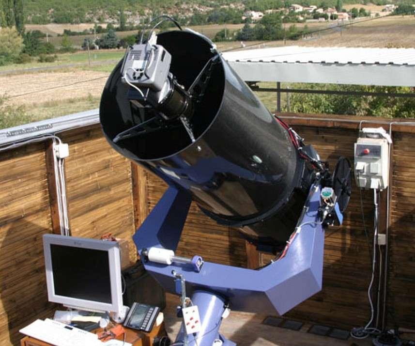 Le télescope automatisé installé à Dauban a déjà permis à Claudine Rinner de découvrir plus de 1.700 astéroïdes. © C. Rinner