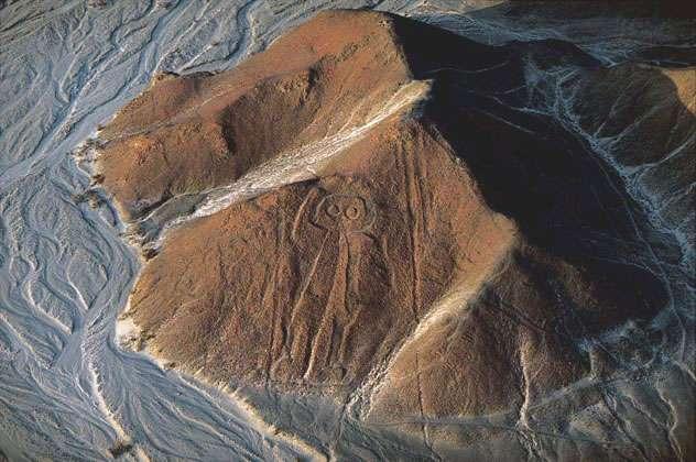 Perou - Ica - L'astronaute de Nazca