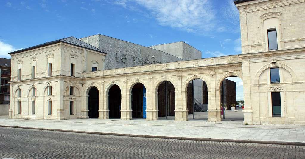 Théâtre de Saint-Nazaire. © Quoique, Wikimedia commons, CC by-sa 4.0