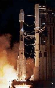 Décollage d'Ariane 4 crédits : ESA/CNES/ARIANESPACE
