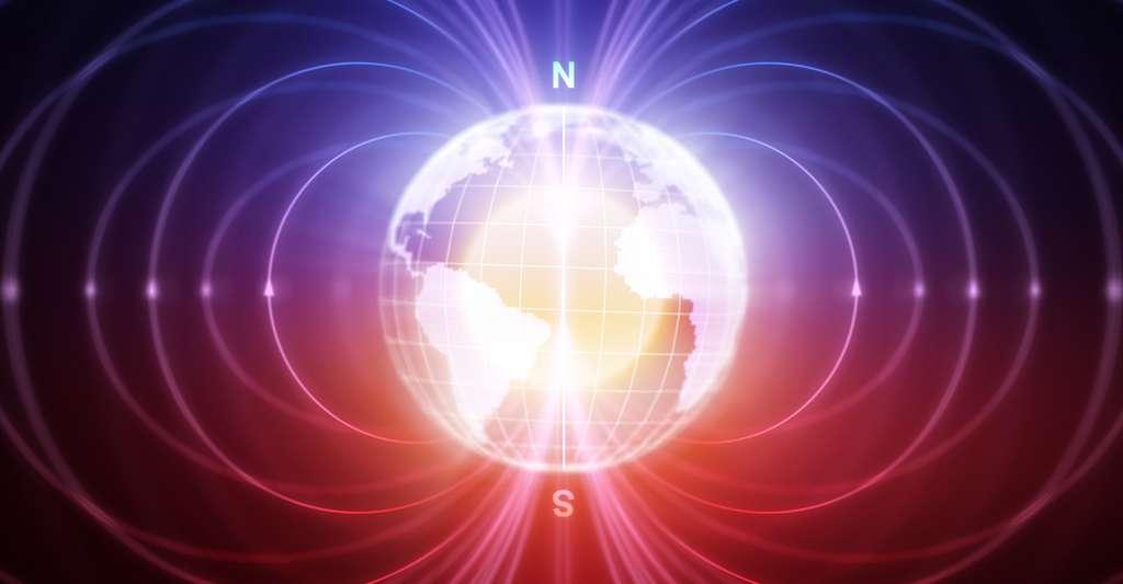 Si certains chercheurs écartent la possibilité d'une prochaine inversion géomagnétique, d'autres remarquent qu'aucune preuve d'arrêt ou même de ralentissement de l'affaiblissement de notre champ n'a encore été apportée. D'autant que l'origine du phénomène reste mystérieuse. © Petrovich12, Fotolia