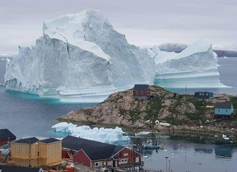Le début de la fonte des glaces au Groenland a été enregistré le 13 mai et il inquiète les scientifiques. © Magnus Kristensen, Ritzau Scanpix, AFP archives
