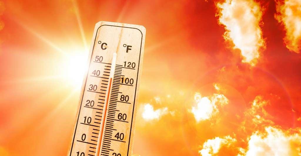 Avec le réchauffement climatique, les températures normales ont augmenté. Mécaniquement, les chances de battre des records en cas de vague de chaleur sont plus importantes. Mais il n'y a pas que ça. © John Smith, Adobe Stock