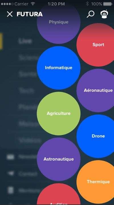 Découvrez Mon Futura, la nouvelle interface qui vous permet de personnaliser votre fil d'actualités Live.