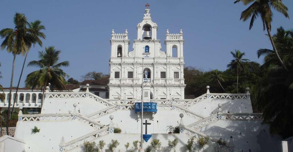 Notre-Dame de l'Immaculée Conception Panjim, Goa. © Ondrej Žvácek, Wikimedia commons, CC by-sa 3.0