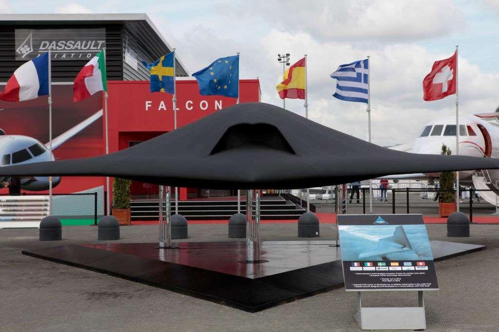 Le drone de combat européen nEUROn