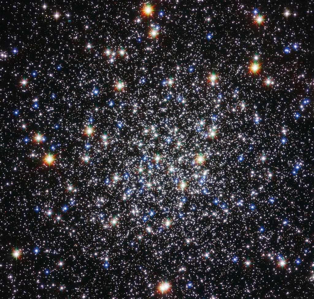L'amas globulaire Messier 12 saisi il y a quelques semaines par le télescope Hubble. © Nasa/Esa/Hubble
