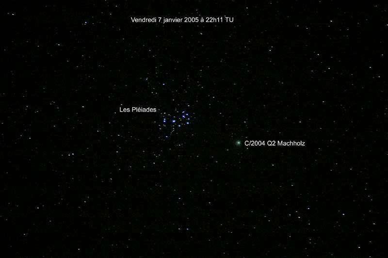 La comète C/2004 Q2 Machholz
