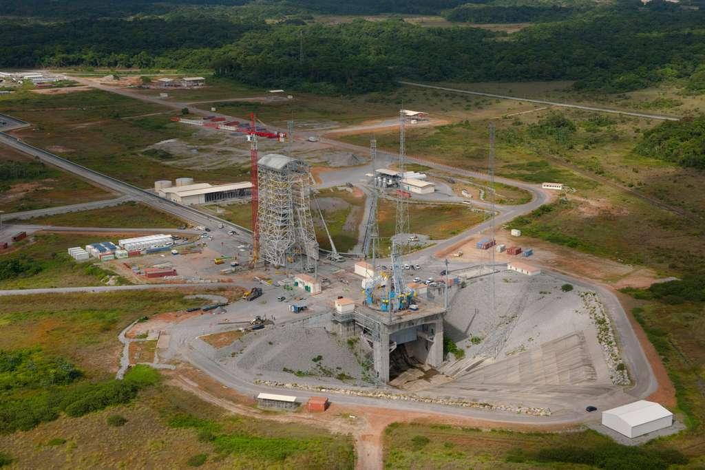 Le pas de tir de Soyuz en Guyane