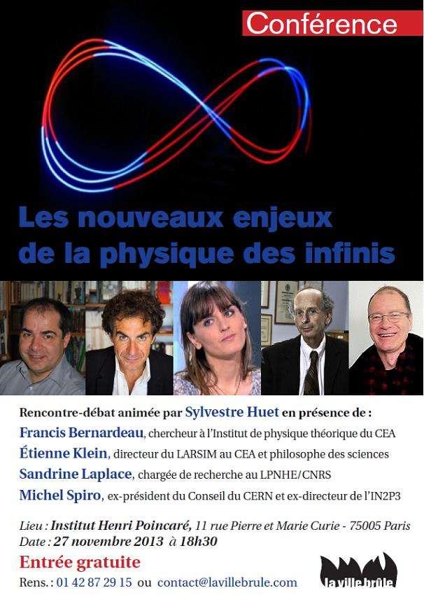 La conférence-débat qui se tient le 27 novembre à l'institut Henri Poincaré de Paris est gratuite. © La ville brûle