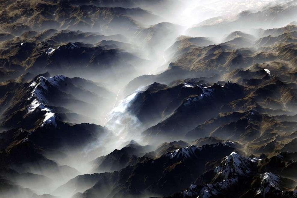 La cordillère des Andes, chaîne de montagnes