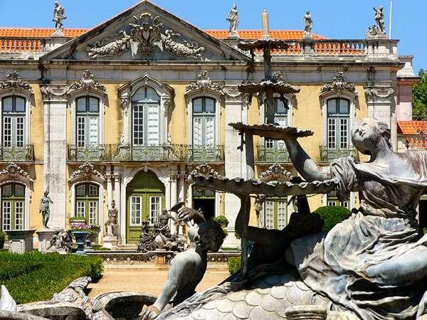 Le Palais national de Queluz. © Quinok, DP
