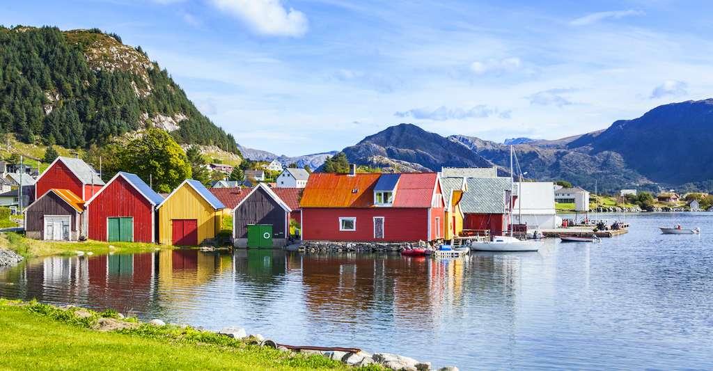 En Norvège, le projet Northern Lights, porté par des pétroliers, ambitionne de stocker, tous les ans à partir de 2024, un million et demi de tonnes de CO2 sous la mer du Nord. © Friedberg, Adobe Stock