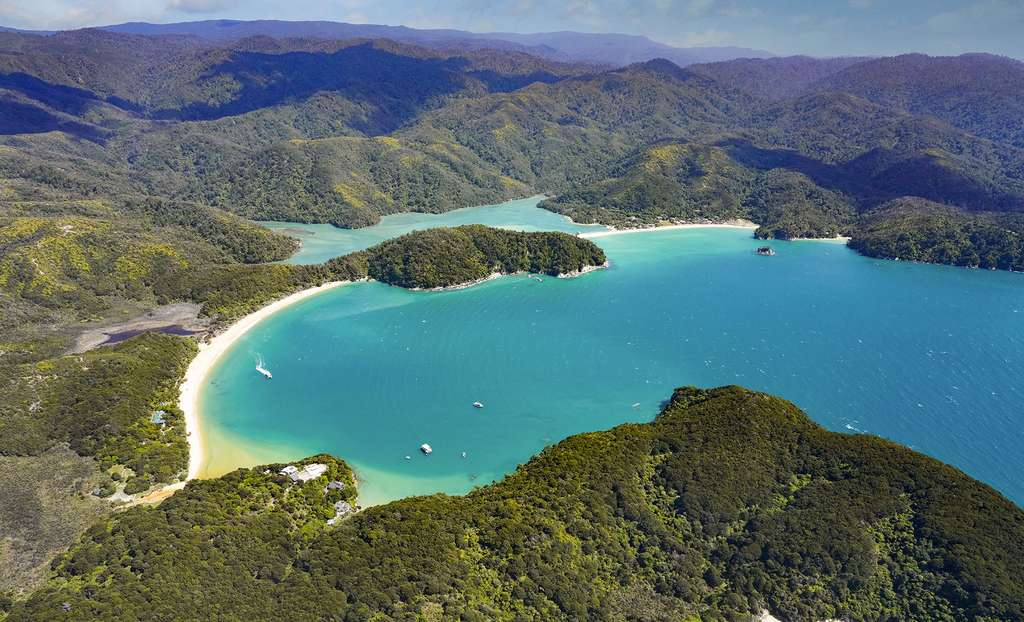 Île du Sud : le parc national Abel Tasman