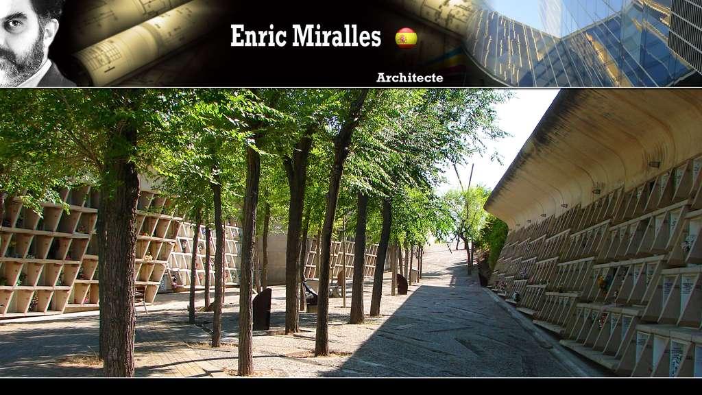 Le cimetière d'Igualada (Enric Miralles)