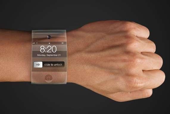 Voilà quelques années déjà, le designer Yrving Torrealba avait imaginé à quoi pourrait ressembler une montre Apple qu'il appelait alors « iWrist ». Le concept d'un verre incurvé épousant la forme du poignet est désormais réalisable grâce aux avancées techniques récentes et à un brevet déposé par la firme à la pomme. © Yrving Torrealba