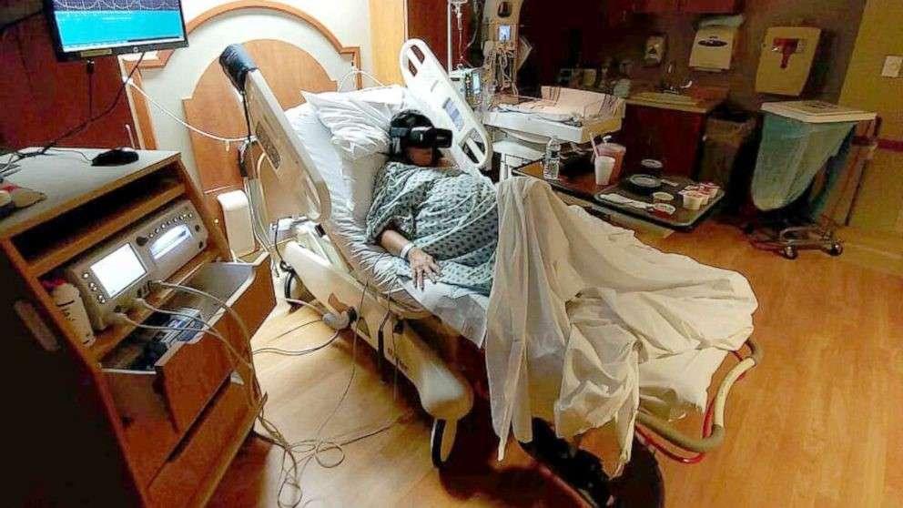 La réalité virtuelle pour oublier les douleurs d'un accouchement ? C'est possible aux États-Unis. © Michael Martucci