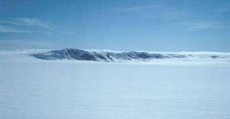 Le Grímsvötn dans le glacier du Vatnajökull, en Islande. © Roger McLassus, Wikipédia