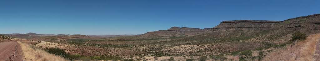 Le Damaraland est souvent appelé la Monument Valley de Namibie. © Orkomedix, Flickr, CC by-nc-nd 2.0