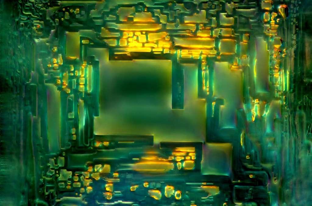Se perdre dans un labyrinthe de formes géométriques