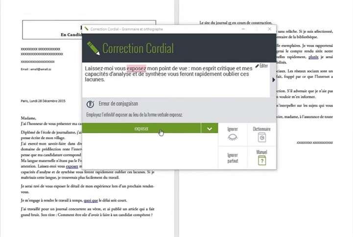 Cordial Référence est la solution intégrée à 100 % dans Microsoft Office. © Synapse Développement