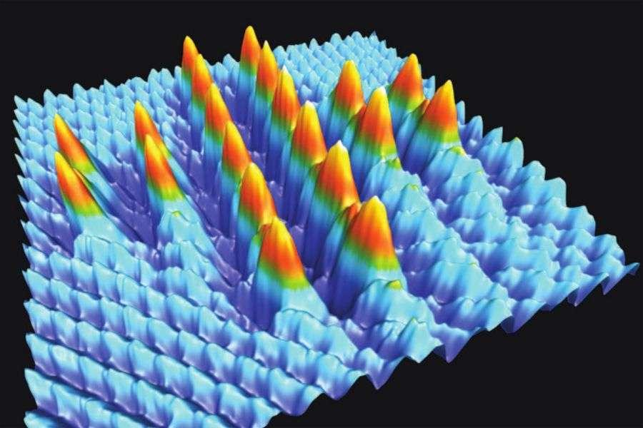 Nanotechnologies : des atomes manipulés à température ambiante !