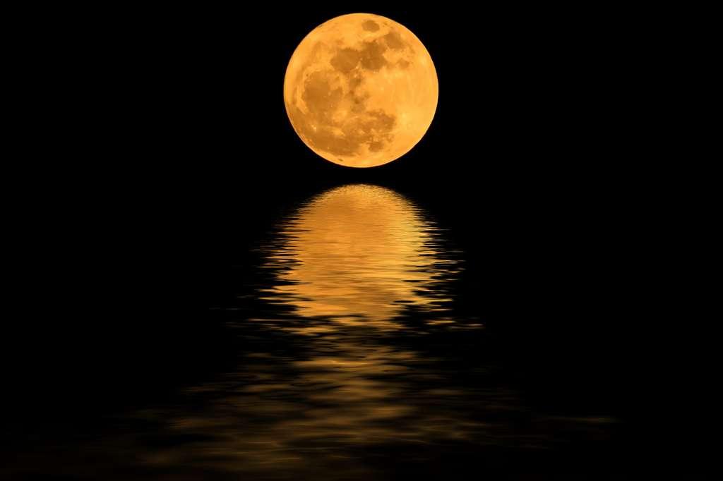 La Lune met l'eau en mouvement. Je suis fait d'eau. Donc, la Lune m'agite. CQFD. © Dsom, Fotolia