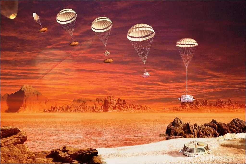 L'exploration de Titan, lune de Saturne