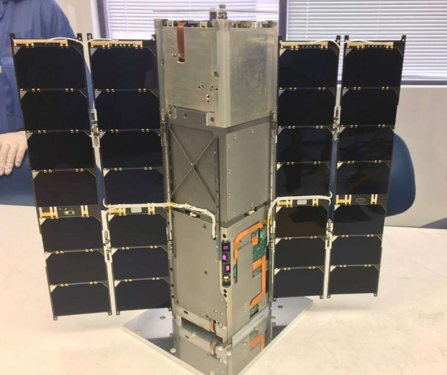 Le CubeSat Ravan a été lancé en novembre 2016 pour étudier la balance énergétique de l'atmosphère terrestre. © JHUAPL