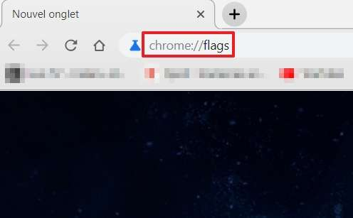 Écrivez « chrome://flags » dans la barre d'adresse de Chrome. © Google Inc.