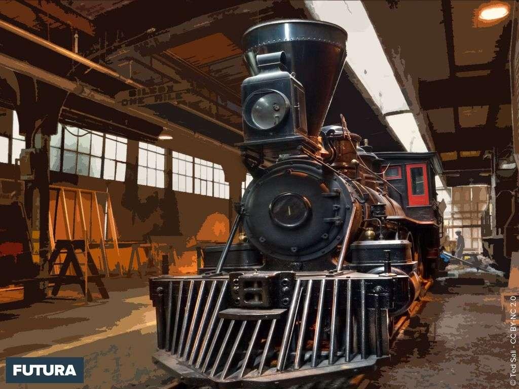Locomotive à vapeur HDR