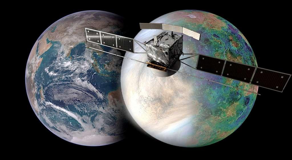EnVision : comprendre pourquoi la voisine la plus proche de la Terre est si différente. © NASA / JAXA / ISAS / FLÉCHETTES / Damia Bouic / VR2Plane