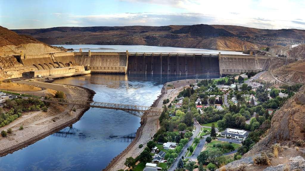 Grand Coulee, le plus puissant barrage des États-Unis