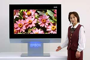 Le plus grand écran OLED au monde - Epson, 40″ (prototype)