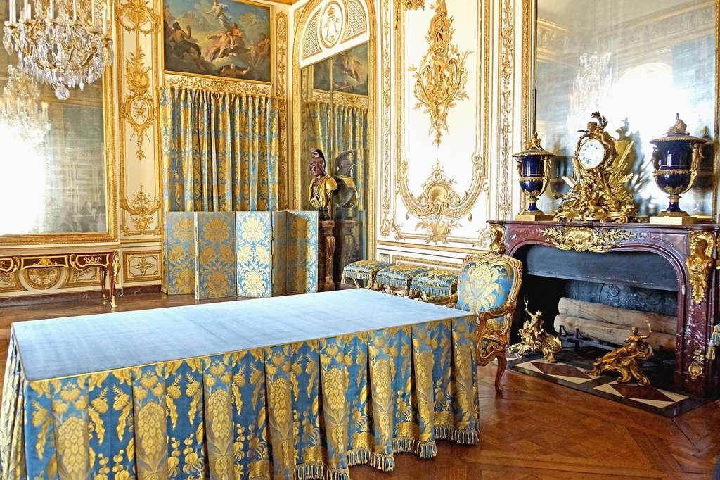 Cabinet du Conseil du roi au château de Versailles. © Photo Dennis Jarvis, Wikimedia Commons, domaine public