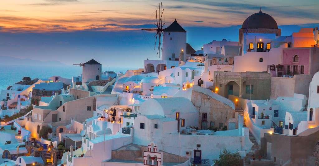 Préparer son voyage en Grèce. Ici, Santorin. © Neirfy, Shutterstock
