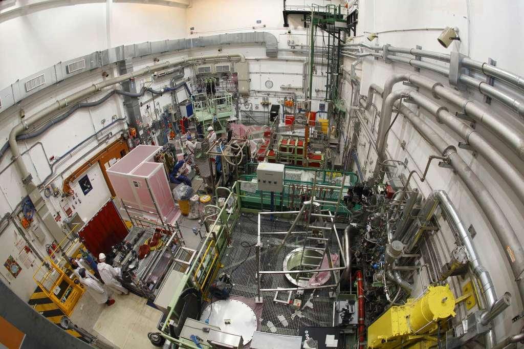 Le réacteur expérimental Cabri en avril 2011. © G. Lesénéchal, CEA