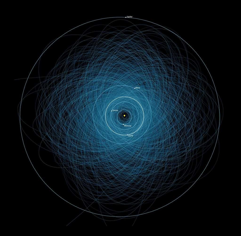 Des milliers d'astéroïdes croisent l'orbite de la Terre. © Nasa, JPL-Caltech