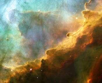L'histoire de l'univers recèle encore bien des mystères. (ici, la nébuleuse M17 : photographie prise par le télescope Hubble). © Domaine public