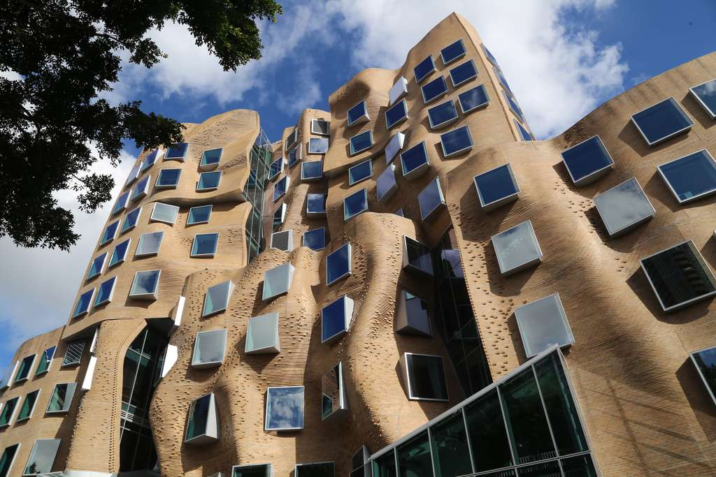 Dr Chau Chak Wing Building, à Sydney. © Summerdrought